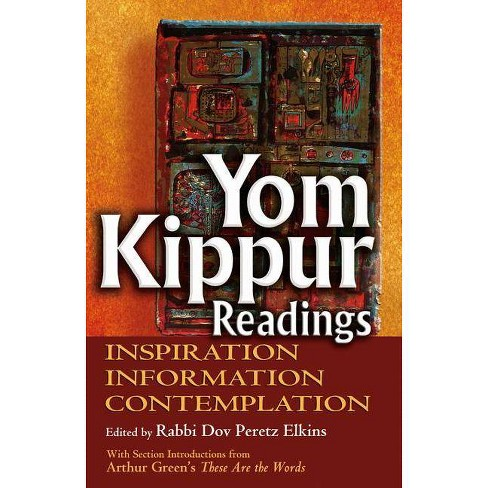 Yom Kippur Readings - (Paperback) - image 1 of 1