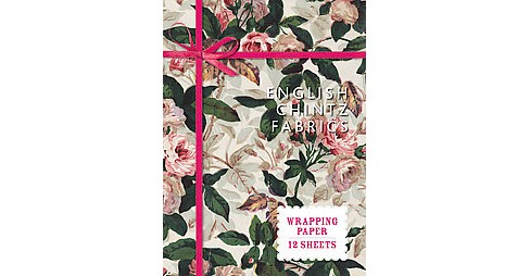 English Chintz Fabrics : Wrapping Paper: 12 Sheets (Accessory) - image 1 of 1