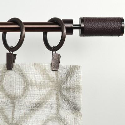 Drapery Rings Brackets Bronze - Versailles Home Fashions