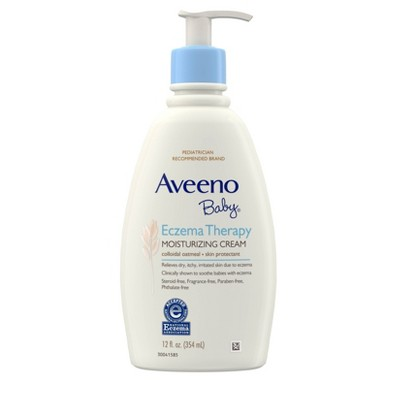 Aveeno Baby Eczema Therapy Moisturizing Cream - 12 fl oz