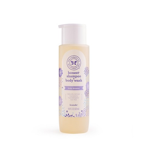 The Honest Company Lavender Shampoo & Body Wash - 18oz - image 1 of 2