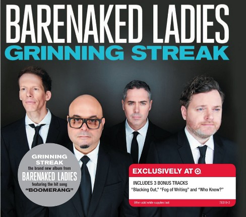 Barenaked Ladies - Grinning Streak - Only at Target - image 1 of 1