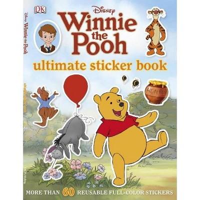 Ultimate Sticker Book: Winnie the Pooh - (Ultimate Sticker Books) (Paperback)