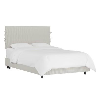 Meridan Slipcover Patterned Bed - Skyline Furniture
