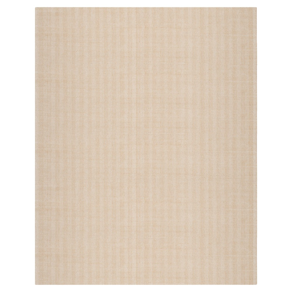 Gold Solid Woven Area Rug 8 39 X10 39 Safavieh