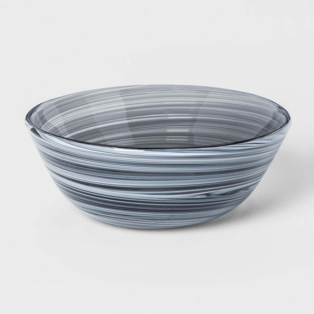 Decorative Bowl Smoke Marble - Blue - Project 62