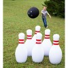 """HearthSong Giant Indoor/Outdoor Inflatable Bowling Game for Kids' with Six 29""""H Pins and 20"""" diam. Ball - image 2 of 4"""