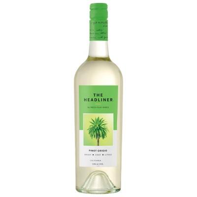 Pinot Grigio White Wine – 750ml Bottle – The Headliner by Press Play Wines
