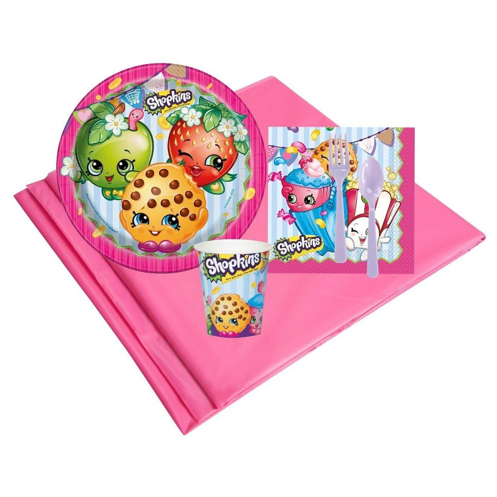 Image of Shopkins 8 Guest Pink Party Pack