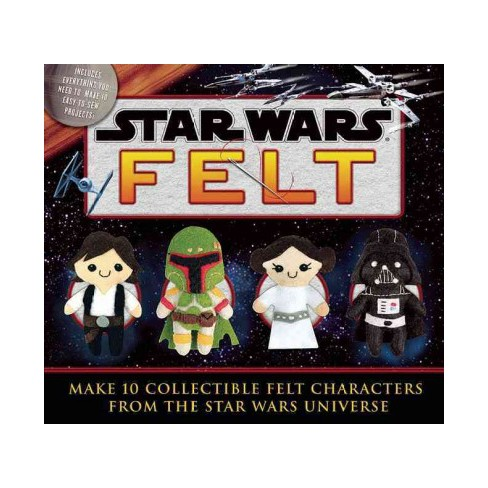 Star Wars Felt Make 10 Collectible Felt Characters From The Star