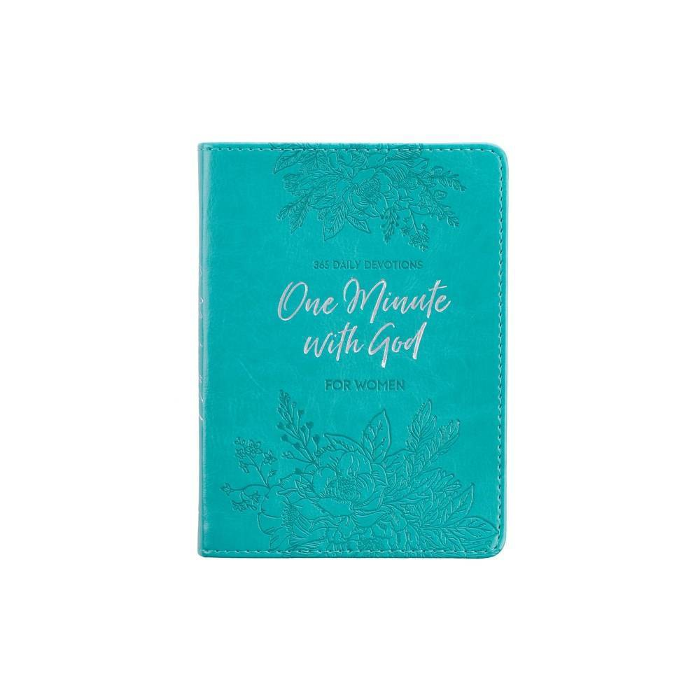 Devotional Luxleather One Minute With God For Women Leather Bound