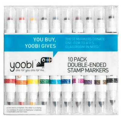 Double Ended Stamp Markers 10ct - Yoobi™