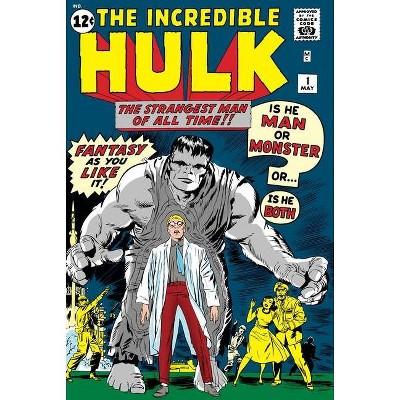 Mighty Marvel Masterworks: The Incredible Hulk Vol. 1 - by  Stan Lee (Paperback)