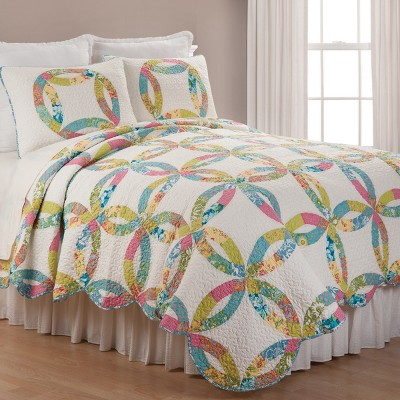C&F Home Emma's Wedding Ring Quilt Set