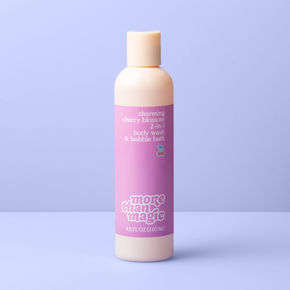 Image of 2-in-1 Body Wash & Bubble Bath - 8.11oz - More Than Magic Charming Cherry Blossom