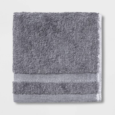 4pk Hand & Wash Towel Set Flat Gray - Made By Design™
