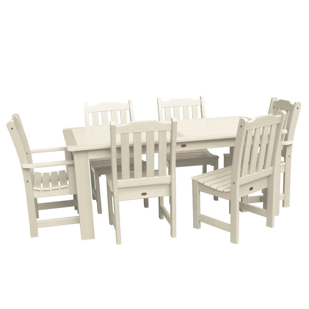 Lehigh 7pc Rectangular Dining Set Whitewash - Highwood, Off White