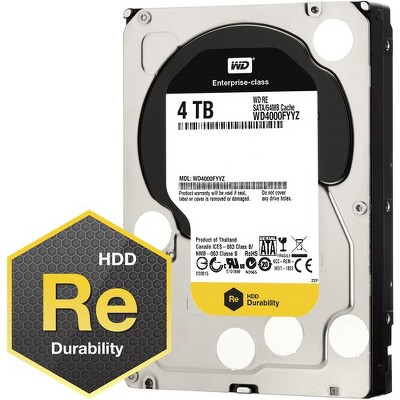 """WD-IMSourcing - IMS SPARE RE WD4000FYYZ 4 TB 3.5"""" Internal Hard Drive - 7200rpm - 64 MB Buffer"""