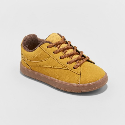 Toddler Boys' Asher Casual Sneakers - Cat & Jack™ Mustard - image 1 of 3