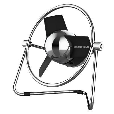 Sharper Image SBM1 Personal USB Fan with Soft Blades Black