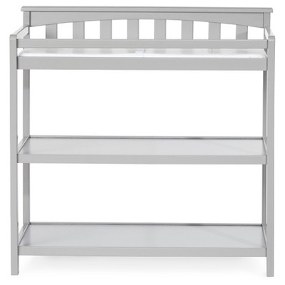 Child Craft Flat Top Changing Table - Cool Gray