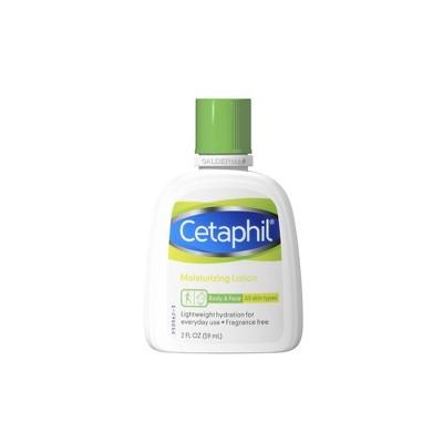 Cetaphil Body & Face Moisturizing Lotion Unscented - 2 fl oz
