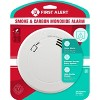 First Alert PRC700V Battery Powered Slim Smoke & Carbon Monoxide Detector with Voice Location and Photoelectric Sensor - image 2 of 4