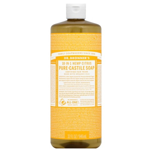 Dr. Bronner's Magic Soap - Citrus Orange - 32 oz - image 1 of 1