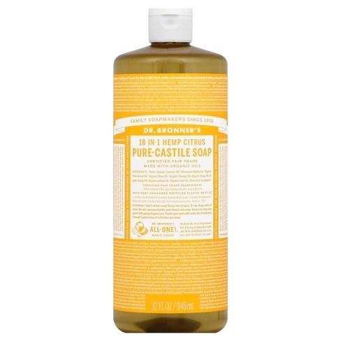 Dr  Bronner's Magic Soap - Citrus Orange - 32 oz