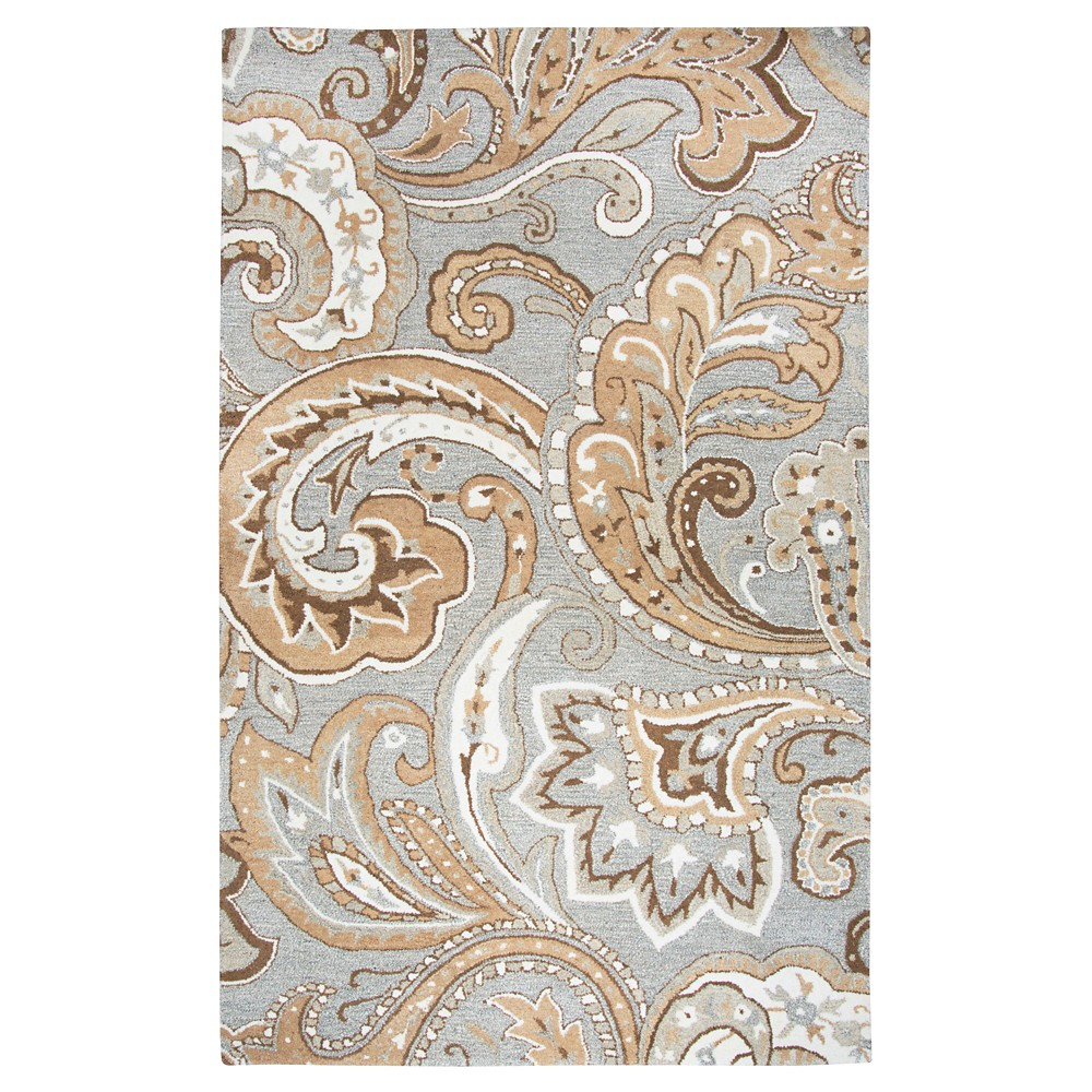 Paisley Rug - Gray - (8'X10') - Rizzy Home