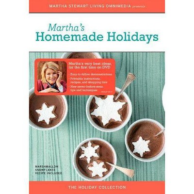 Martha Stewart: Martha's Homemade Holidays (DVD)(2005)