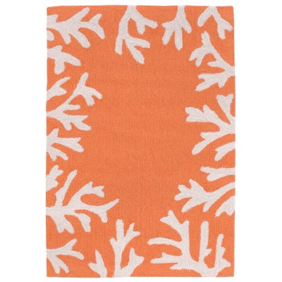 2'6 X4' Coral Branch Accent Rug Living Coral - Liora Manne
