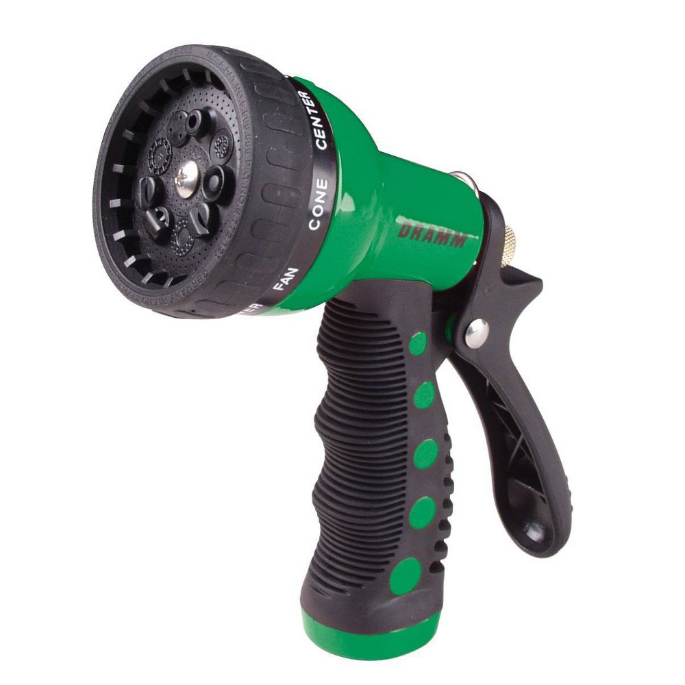 Image of 9 Pattern Revolver Spray Nozzle Green - Dramm
