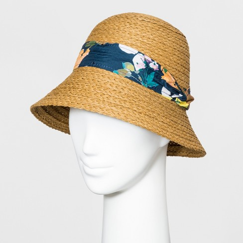 72b9cbb4 Women's Boater Hat - A New Day™ Natural : Target