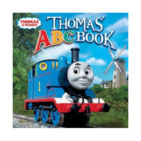 Thomas' ABC Book (Thomas & Friends) - (Please Read to Me (Paperback)) by  W Awdry (Paperback) - image 1 of 1