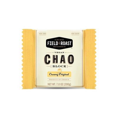 Field Roast Chao Creamy Original Vegan Cheese Block - 7oz