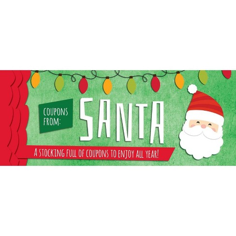 Coupons from Santa - (Sealed with a Kiss) (Paperback) - image 1 of 1