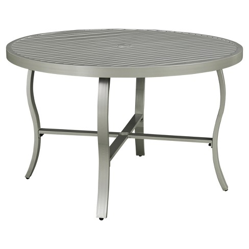 South Beach Round Outdoor Dining Table - Gray - Home Styles - image 1 of 1