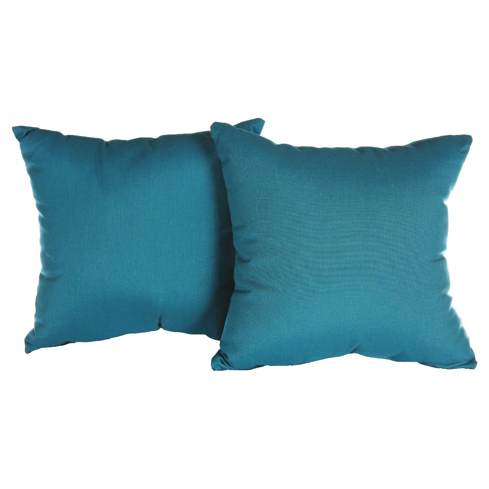 Image of Pillow in Spectrum - Peacock - AE Outdoor, Peacock Green