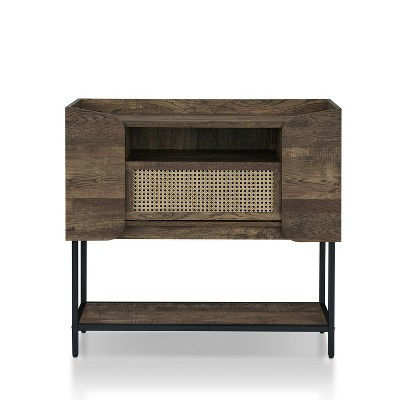 Niles Console Table Natural Oak - HOMES: Inside + Out