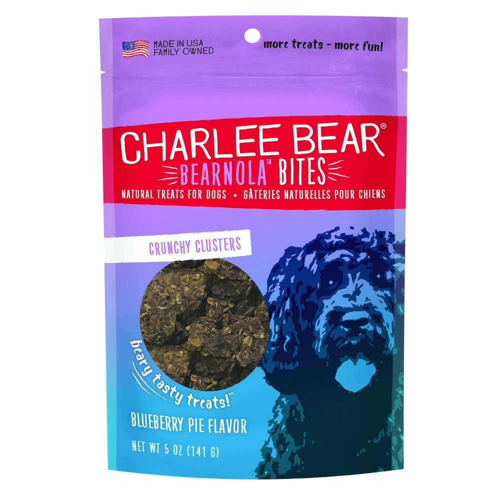 Charlee Bear Bearnola Blueberry Pie Dog Treats 5oz
