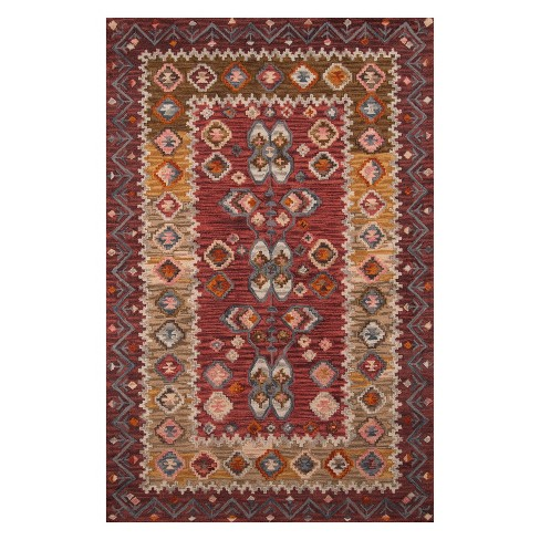 Tangier Darcy Tribal Design Tufted Accent Rug - Momeni - image 1 of 4