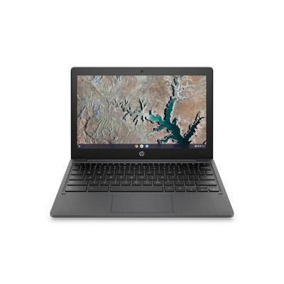 "HP 11.6"" Chromebook Laptop with Chrome OS - MediaTek Processor - 4GB RAM Memory - 32GB Flash Storage - Ash Gray (11a-na0035nr)"