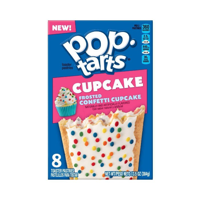 Pop-Tarts Frosted Confetti Cupcake Pastries- 8ct / 13.5oz - image 1 of 6