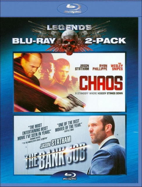 Chaos/The Bank Job [2 Discs] [Blu-ray] - image 1 of 1