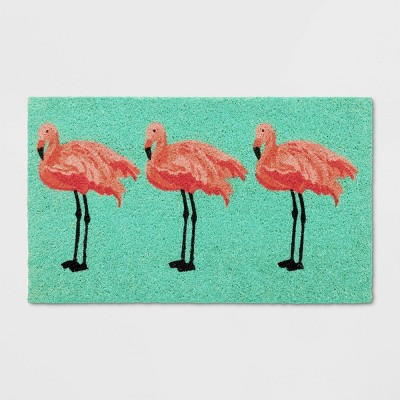 18 X30  Flamingo Tufted Doormat - Sun Squad™