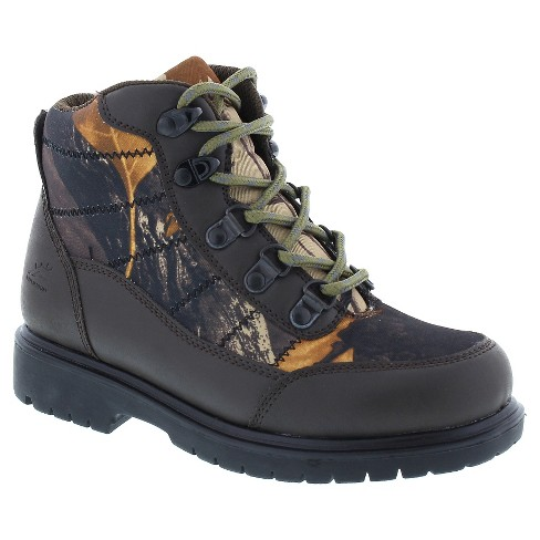 Boys' Deer Stags Hunt Water Resistant Occupational Boots - Brown - image 1 of 4