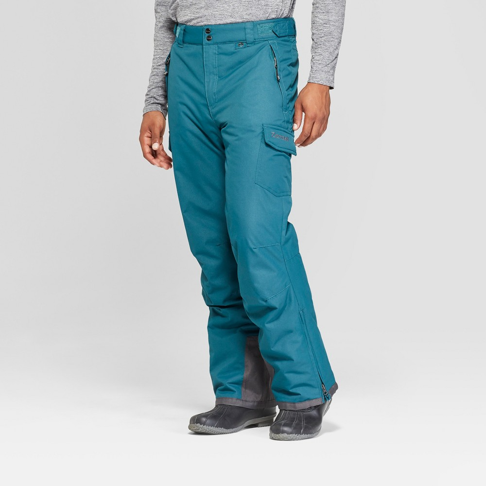 Men's Cargo Snow Pants - Zermatt Green XL