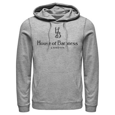 Fifth Sun Mens Disney Movie Logo Slim Fit Long Sleeve Hooded Graphic Sweatshirt - Gray Large