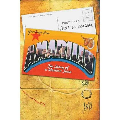 Amarillo - by  Paul H Carlson (Hardcover) - image 1 of 1